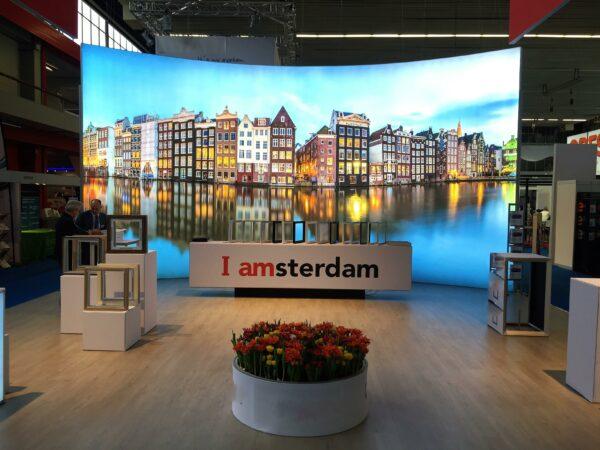 Amsterdam airport lighbox